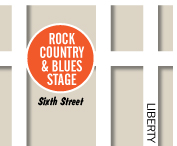 Rock Country Blues Stage