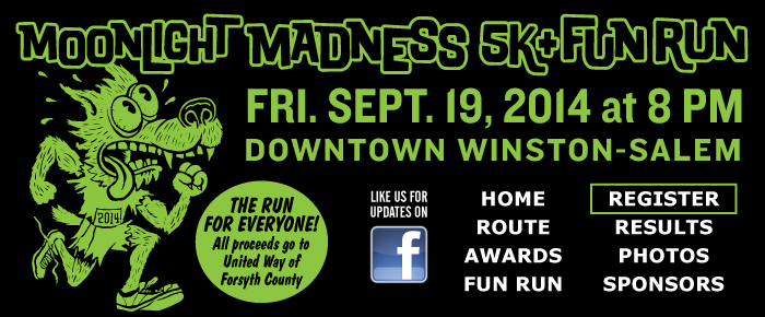Moonlight Madness 5k - Sept. 20, 2013