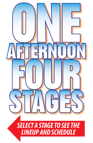 One Afternoon Four Stages